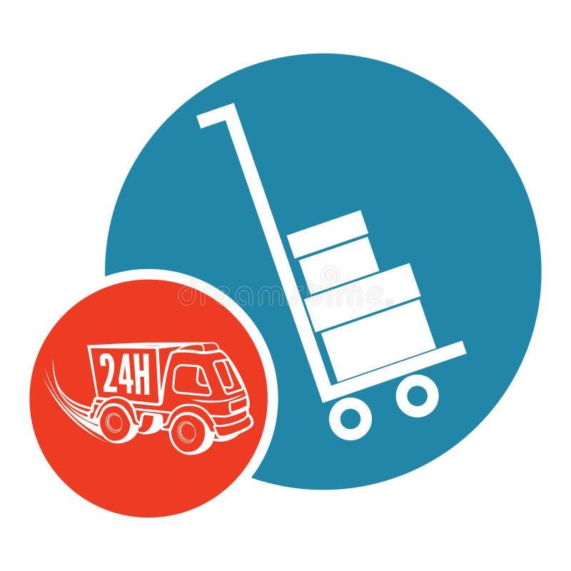 Moving service vector illustration
