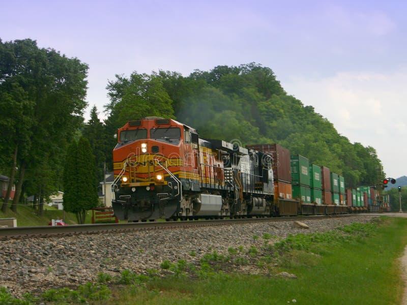 Moving Train royalty free stock photo