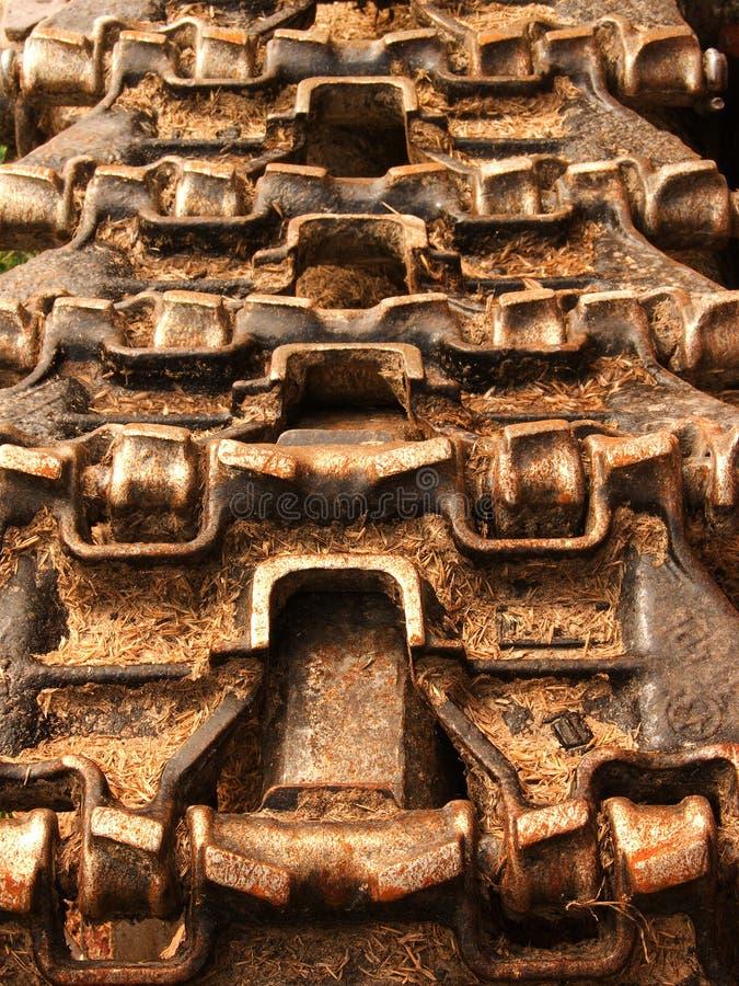 moving traktor för mekanism royaltyfria foton
