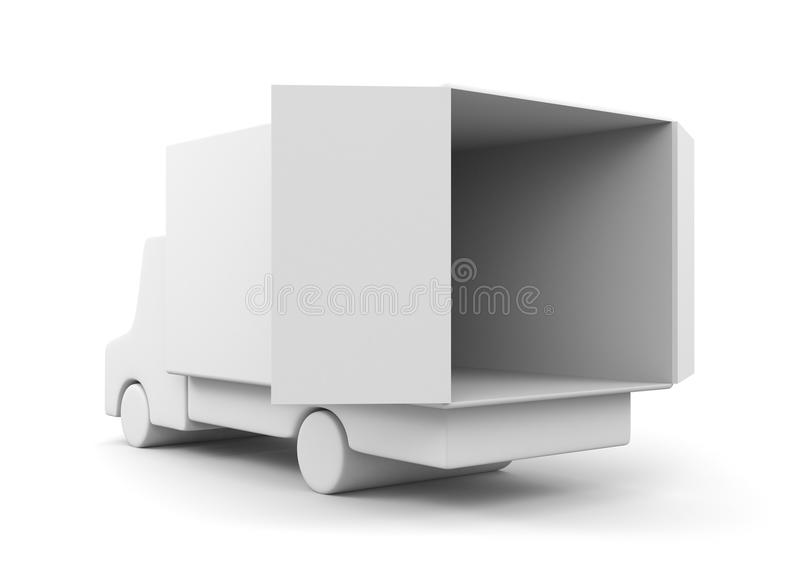 Moving Truck Royalty Free Stock Image