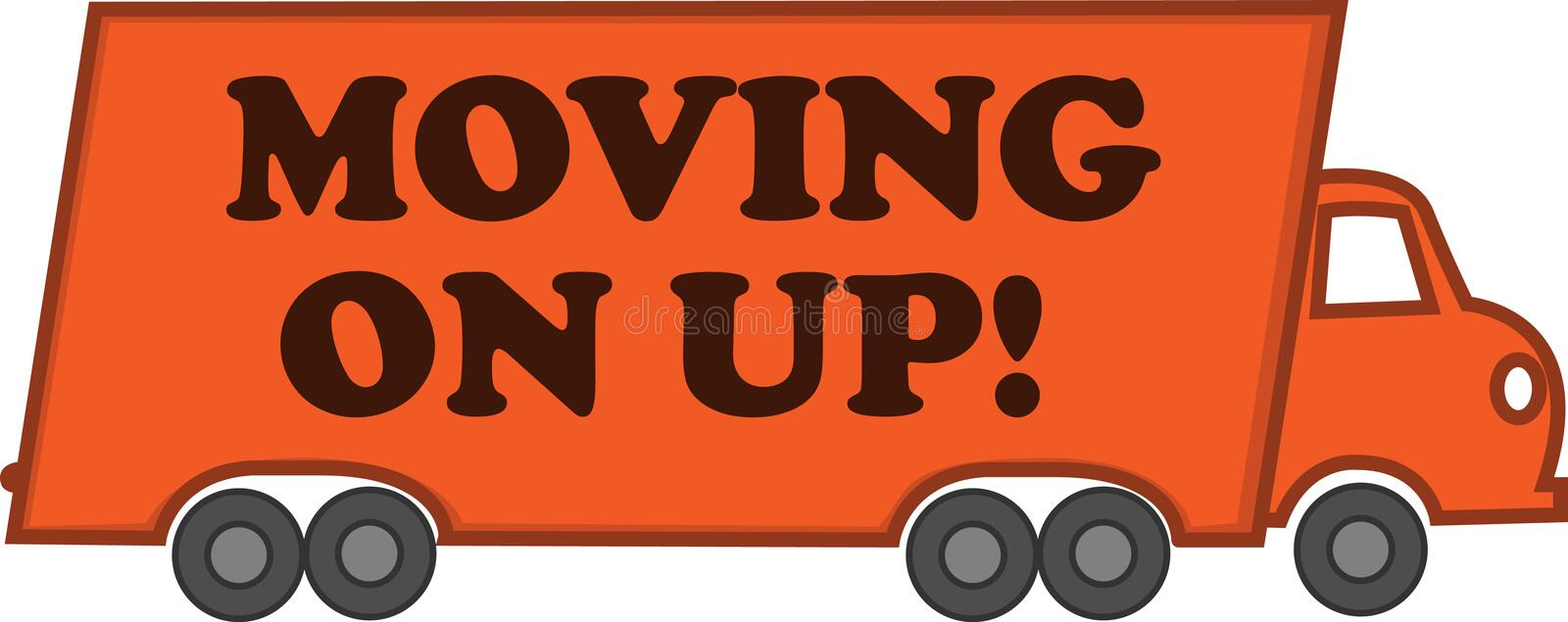 Download Moving On Up stock vector. Image of clipart, cargo, class - 16814834