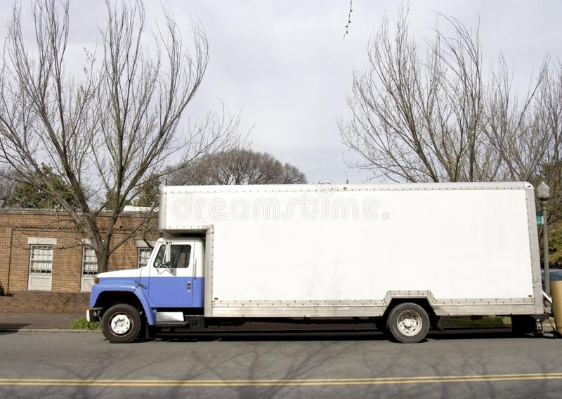 Moving Van royalty free stock image