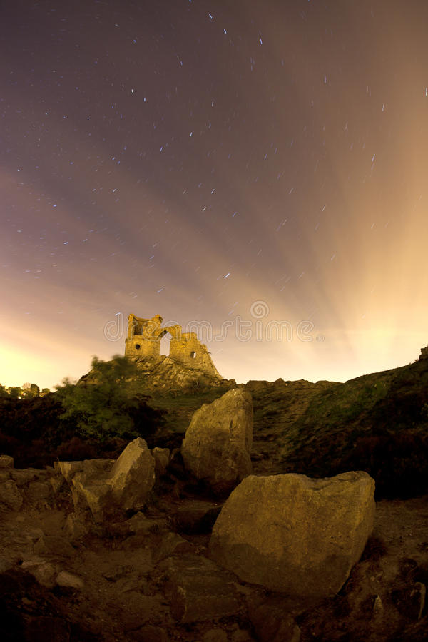Download Mow cop star trails stock image. Image of staffordshire - 25073701