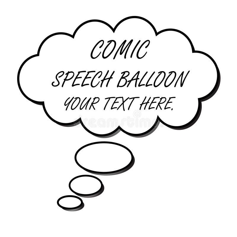 Mowa balon (wektor) ilustracja wektor