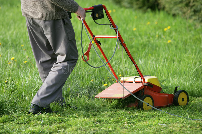 Mower stock images