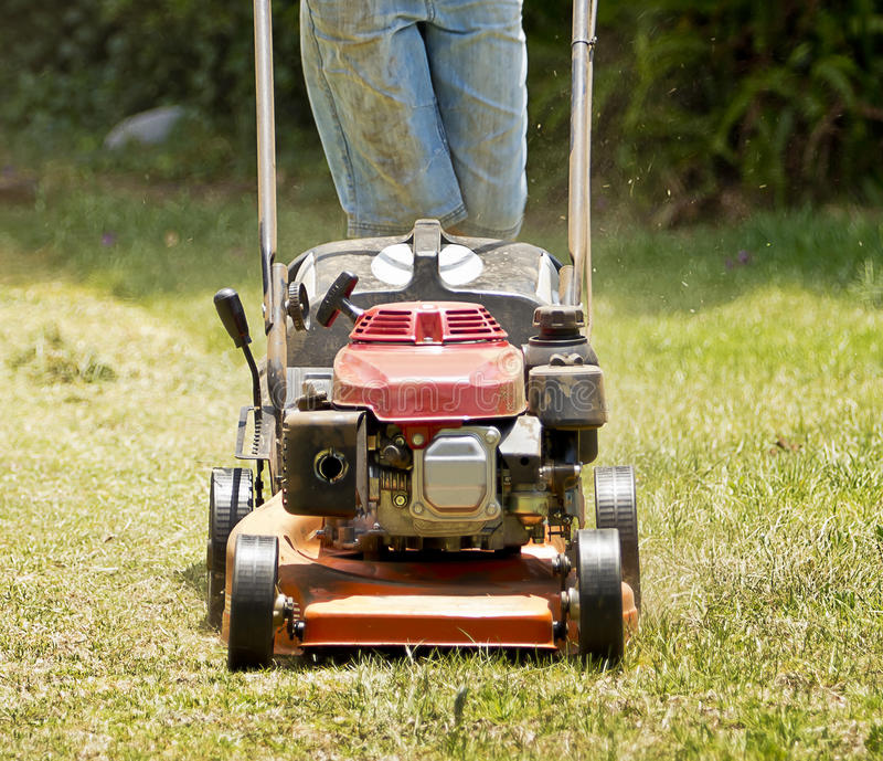 Download Mowing Lawn Royalty Free Stock Photo - Image: 22501895
