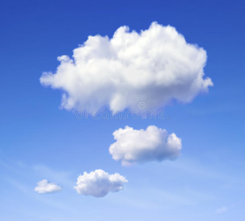 Mowy chmura royalty ilustracja