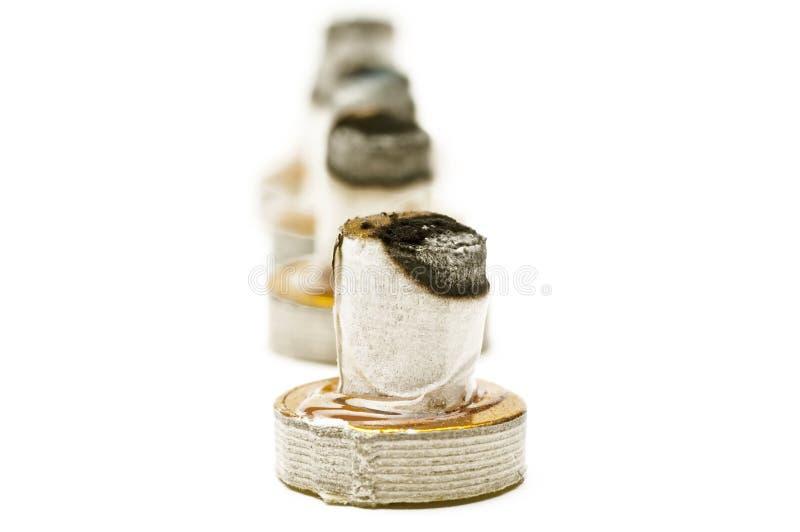 Moxibustion stock foto