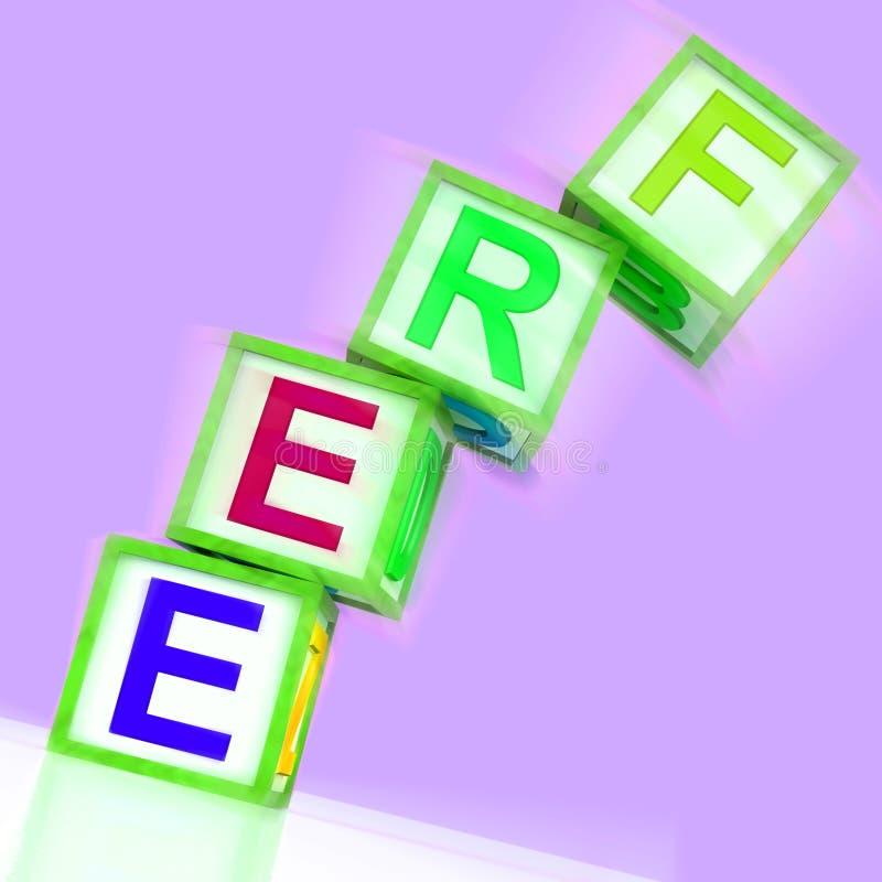 Moyen gratuit de Word gratuitement ou sans frais illustration stock
