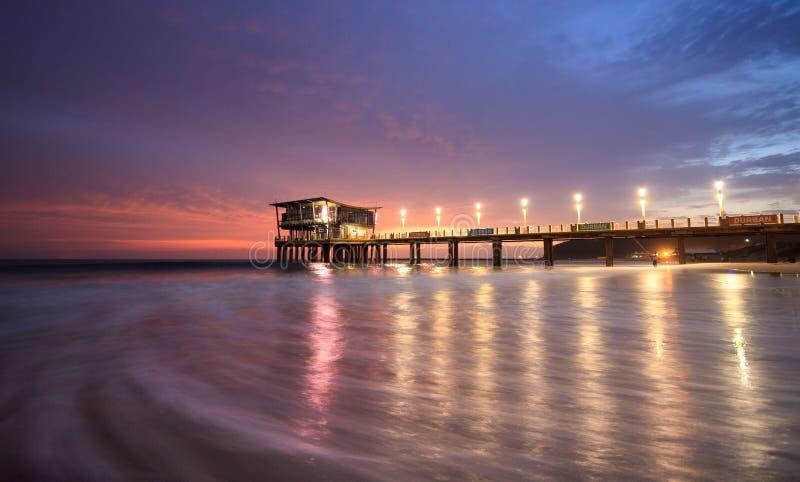 Moyo Pier Durban imagem de stock royalty free