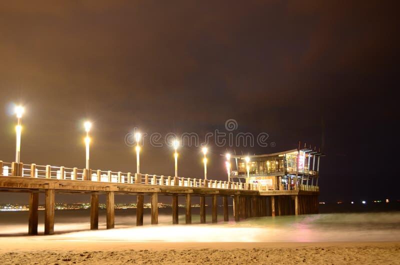 Moyo Pier stock image