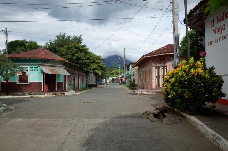 Moyogalpa, Ometepe fotografia de stock royalty free