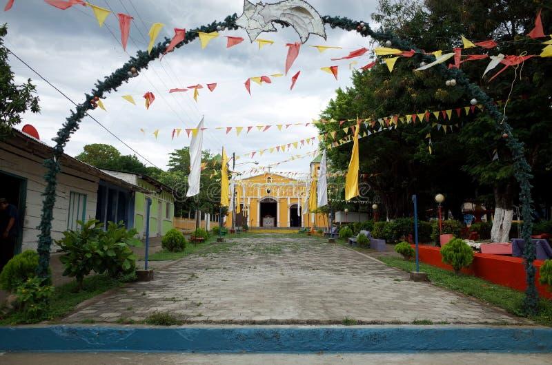 Moyogalpa, Ometepe stock foto's