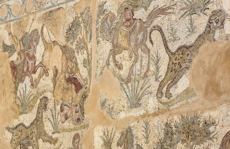Mozaïek van Carthago royalty-vrije stock afbeeldingen