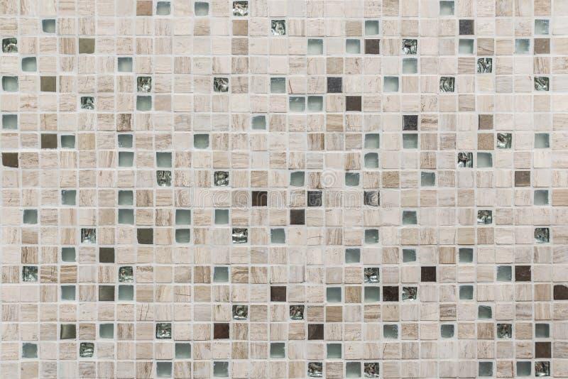 Mozaik płytek tekstury tło zdjęcia royalty free