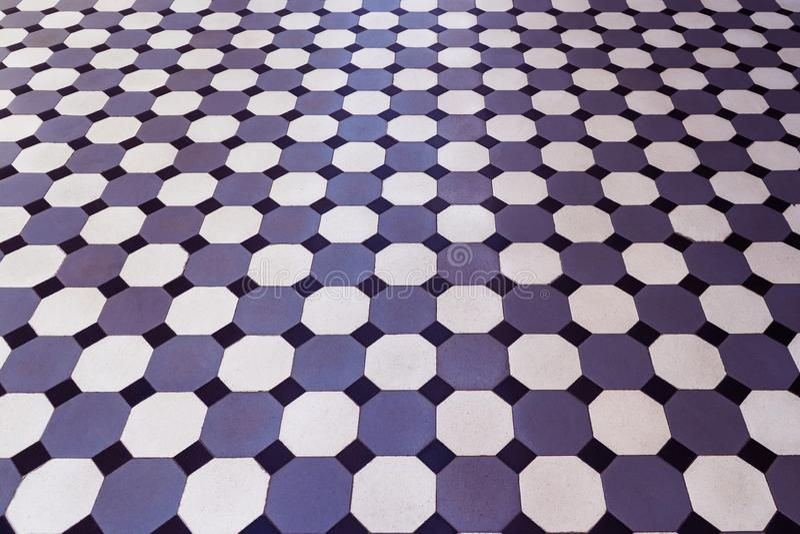 Mozaika, ceramiczne płytki z klasyka wzorem zdjęcia stock