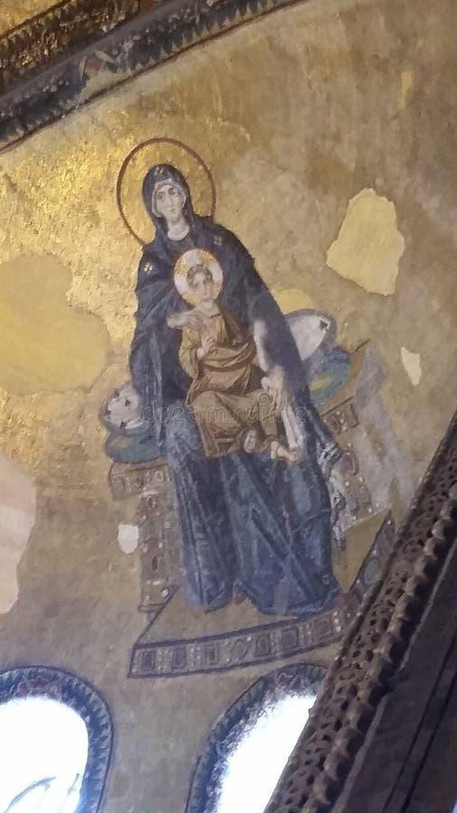 Mozaika Chrystus zdjęcia royalty free