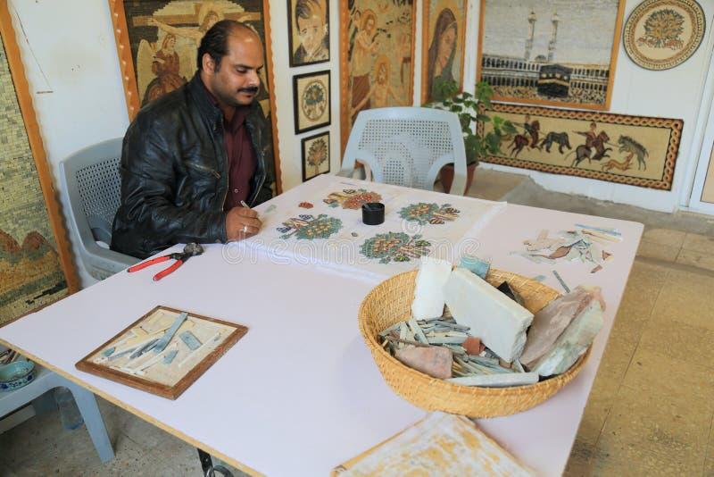 Mozaika obraz obrazy royalty free