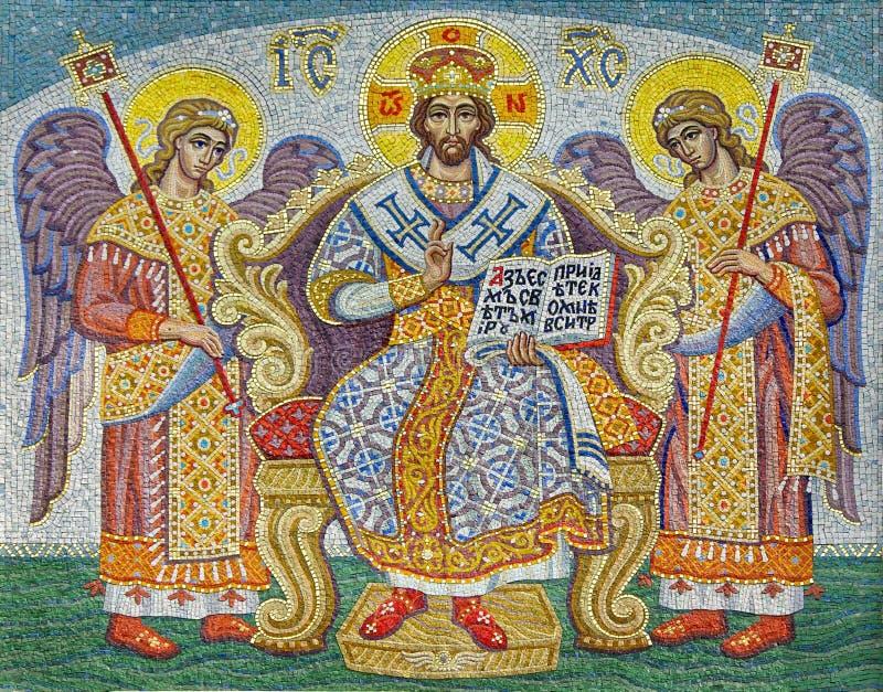 mozaika religijna zdjęcie stock