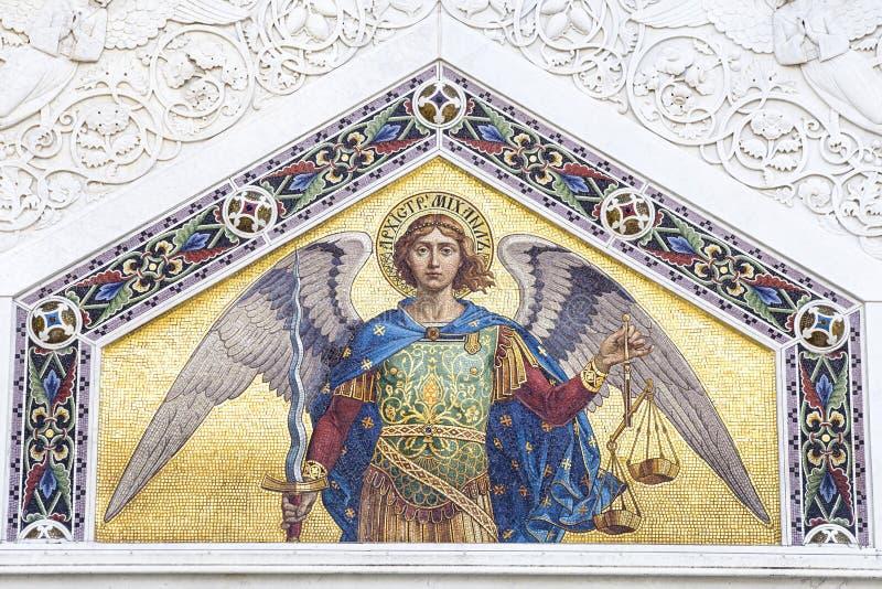 Mozaika ?wi?ty Michael zdjęcie royalty free