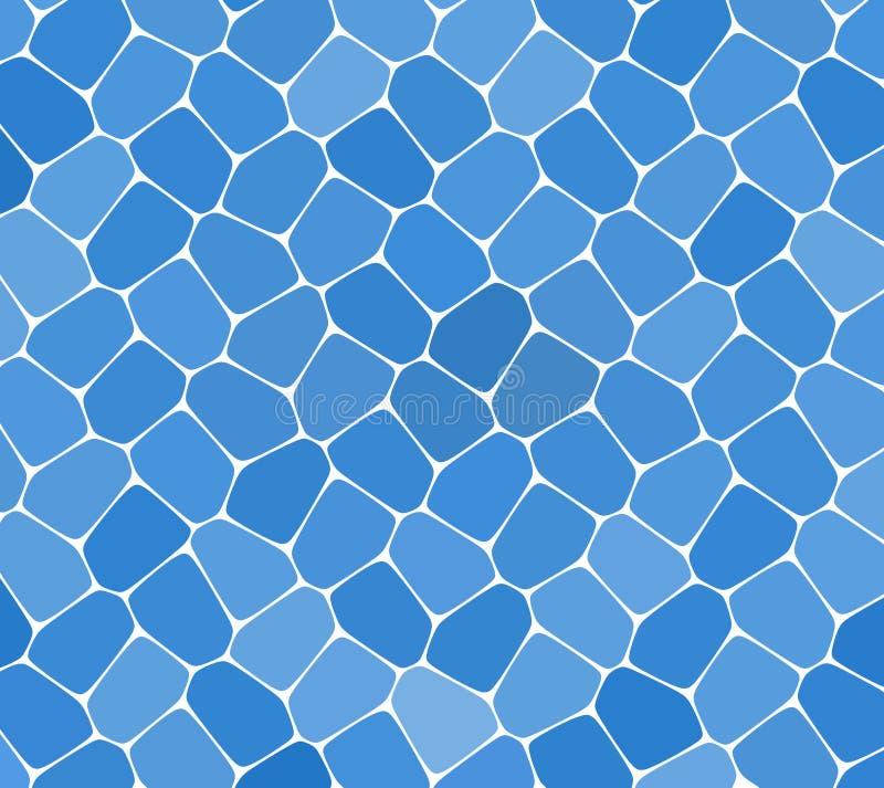 Mozaika wzoru tło Jaskrawe kolorowe płytki z białą przerwy teksturą ilustracji