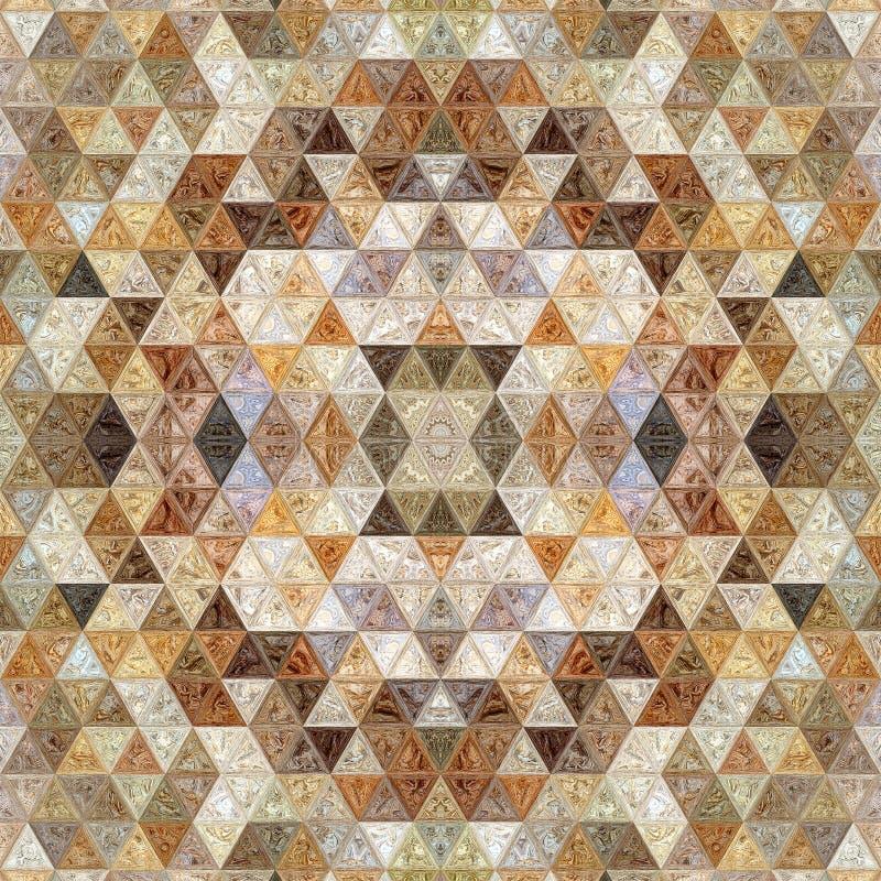 Mozaika wzoru tekstury tła dekoracja foremność ilustracja wektor