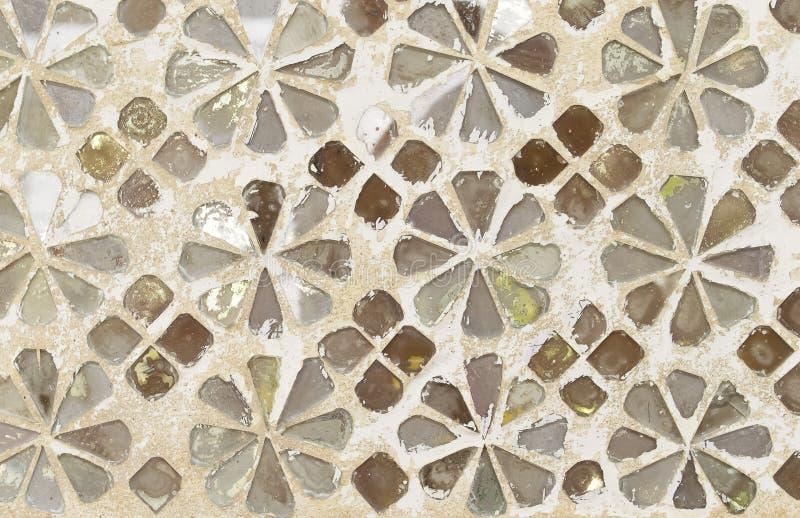Mozaiki ściana zdjęcia stock