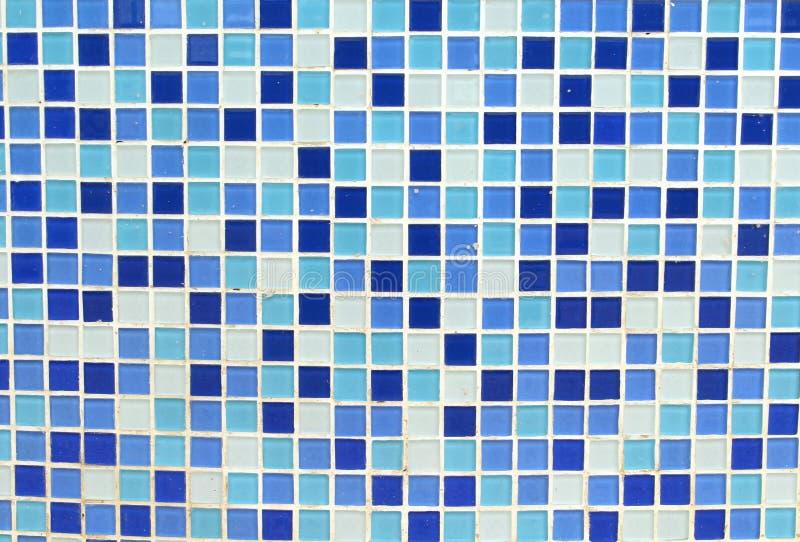 Mozaiki błękit jak piękny obraz royalty free