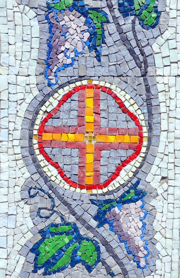 Download Mozaiki ściana zdjęcie stock. Obraz złożonej z kreatywnie - 53783850