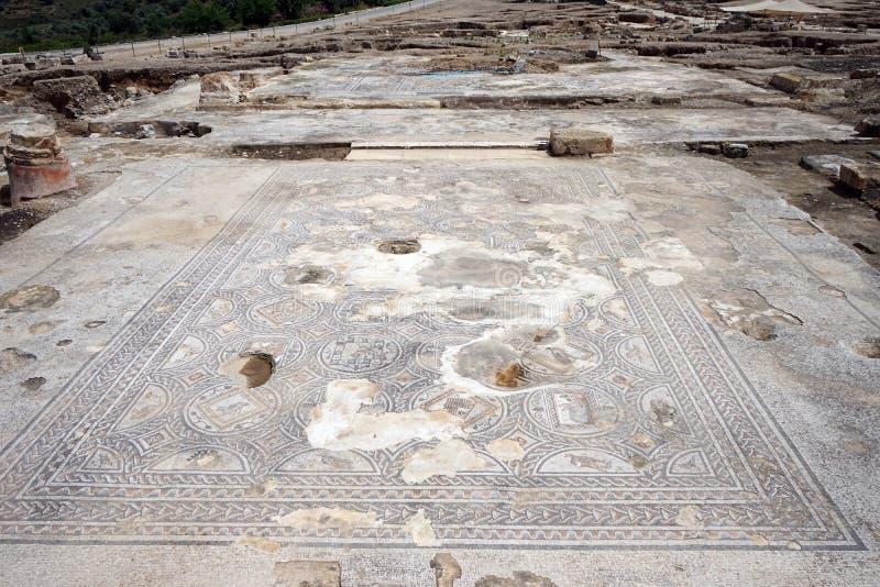 Mozaiki na podłoga zdjęcie stock