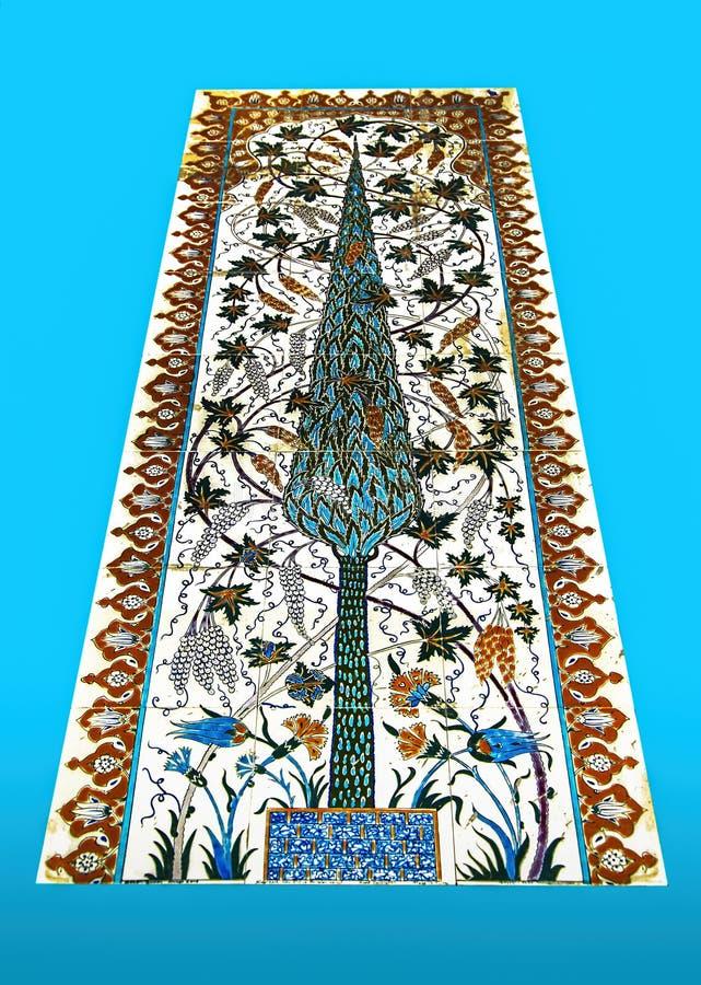 Mozaiki płytki wzór zdjęcia stock