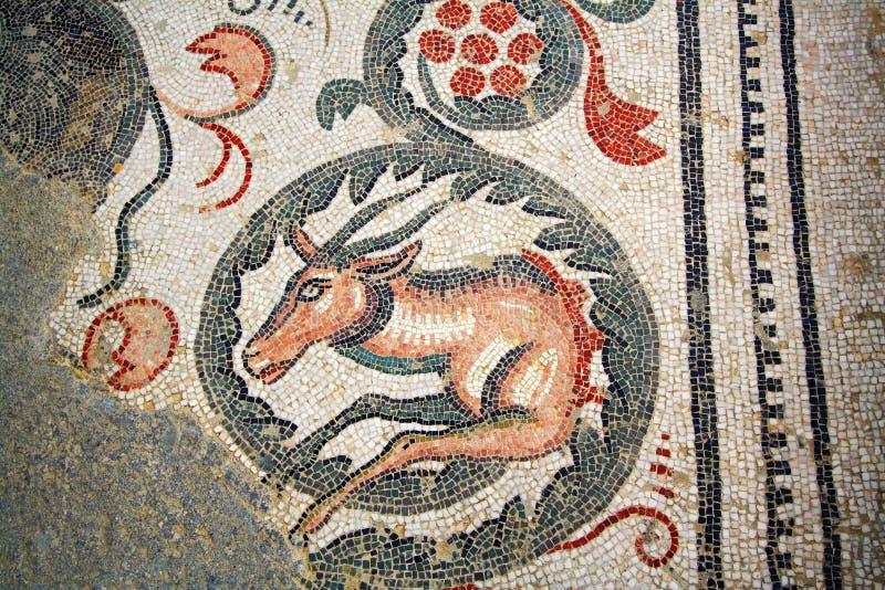 mozaiki Sicily rzymska willa fotografia royalty free