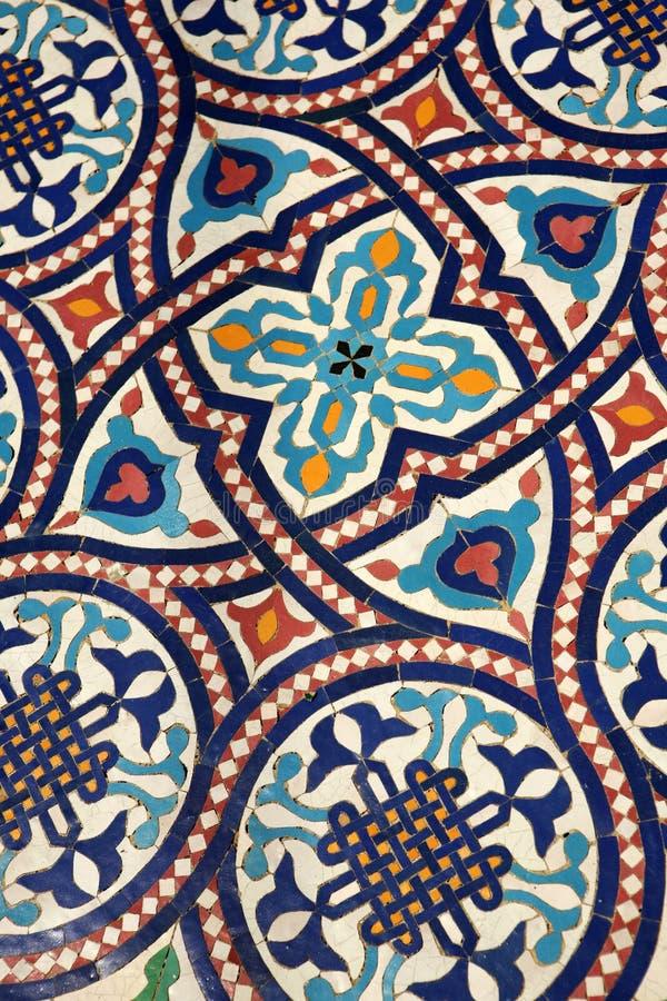 mozaiki tilework maroka zdjęcia royalty free
