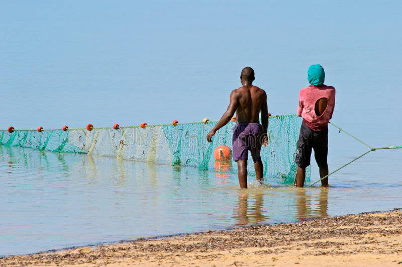 Download Mozambican fishermen stock image. Image of traditional - 2613247