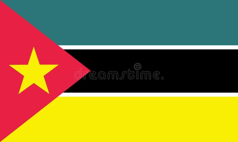 mozambique stock illustratie