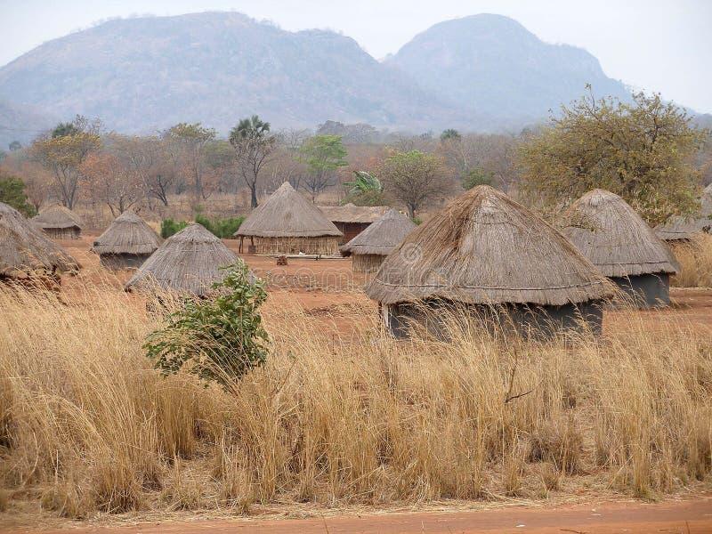Download Mozambique Afrykańska Wioska Zdjęcie Stock - Obraz: 9194264