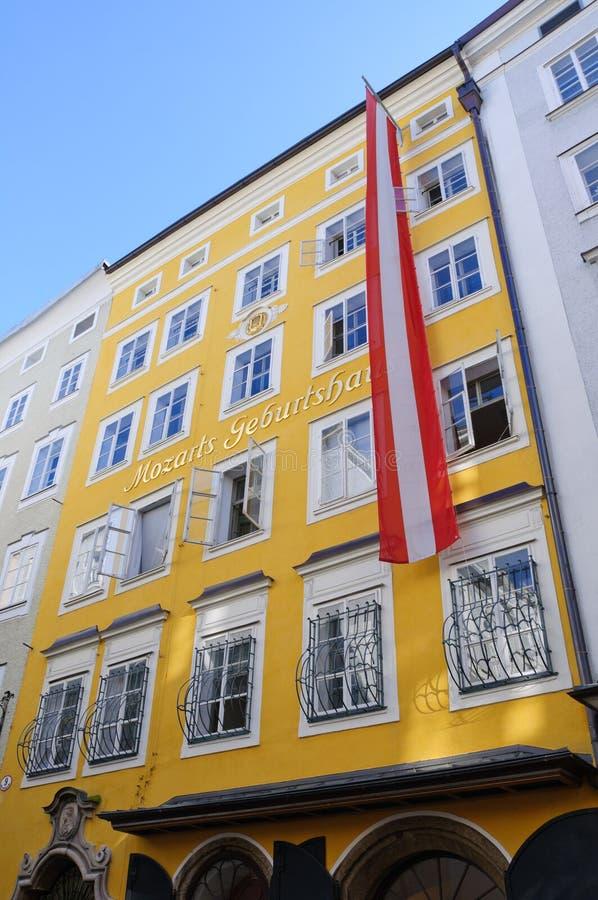 Free Mozart S Birthplace - Salzburg, Austria Royalty Free Stock Photos - 16353378