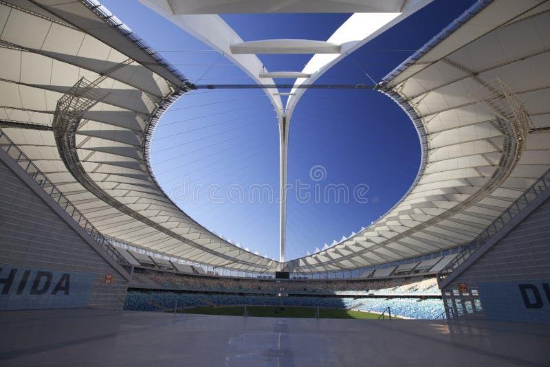 Mozes Mabhida Stadium, FIFA, de Kop van de Wereld 2010   royalty-vrije stock foto