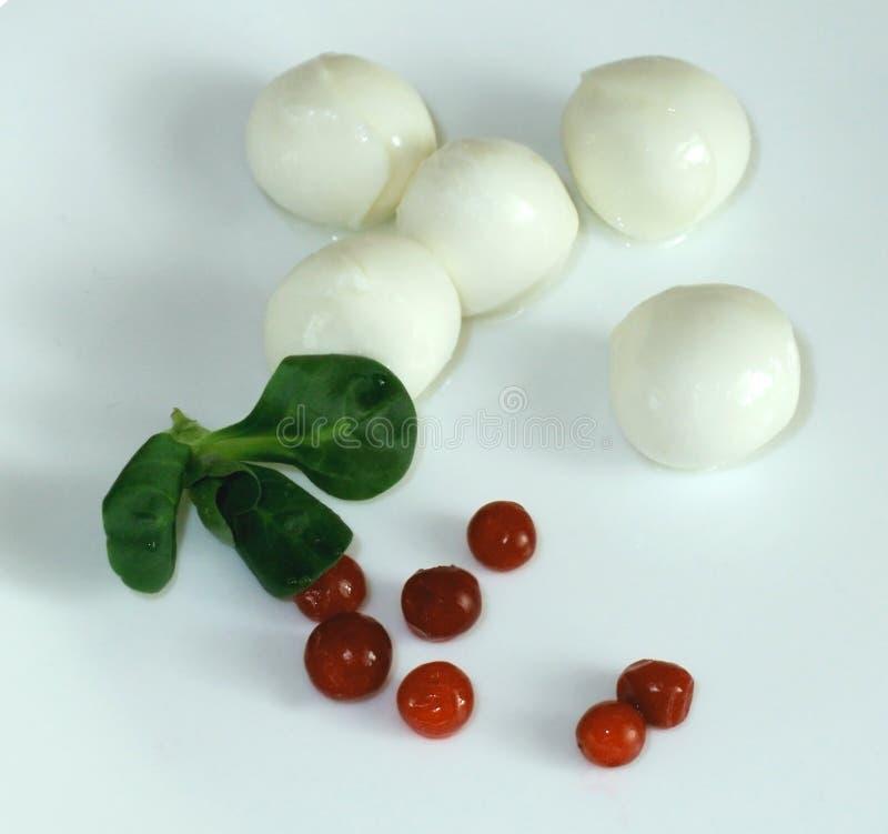 Mozzarella lizenzfreies stockfoto