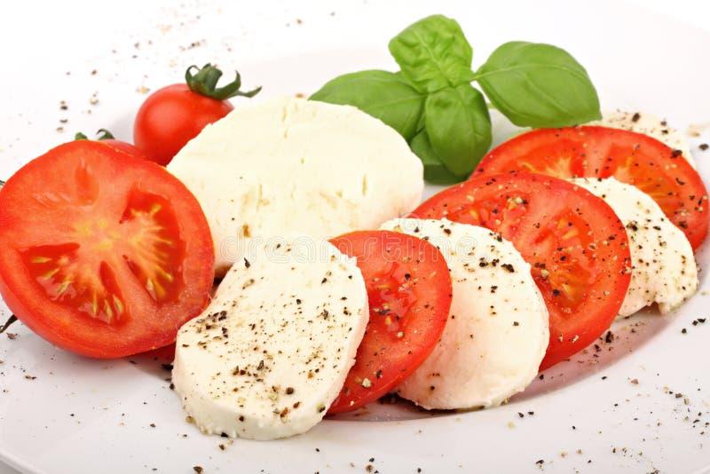 Mozzarella 2 fotografia stock