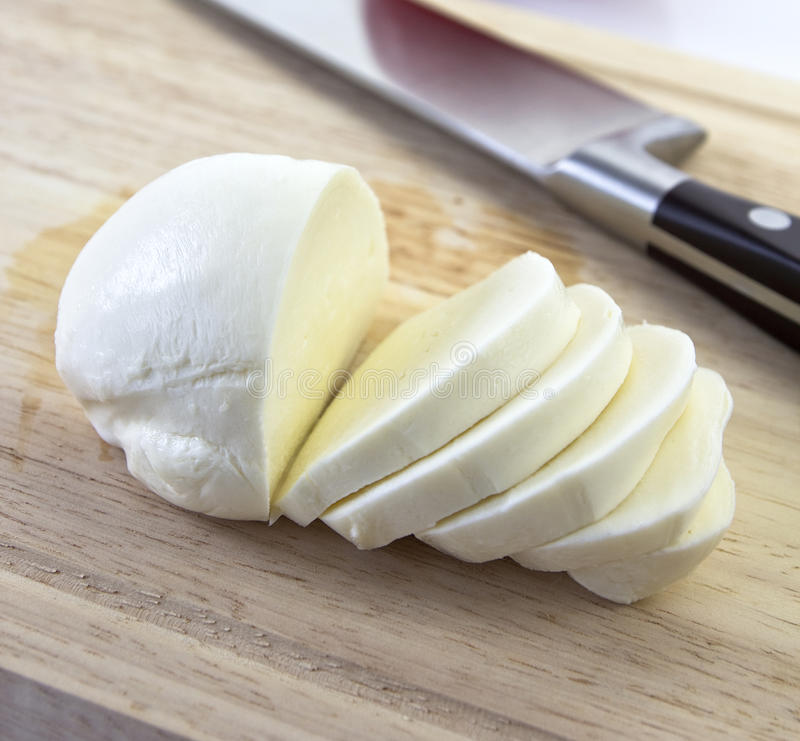 Mozzarella photographie stock