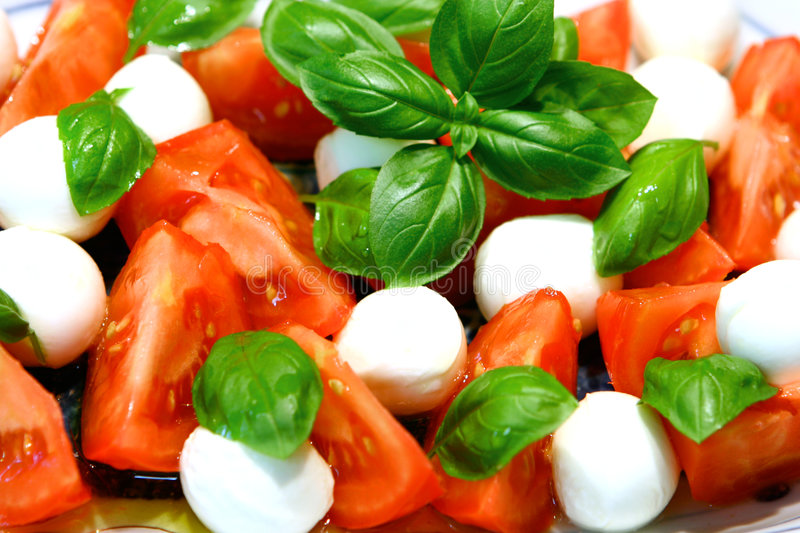 Download Mozzarella and tomatoes stock photo. Image of italy, olive - 3152166