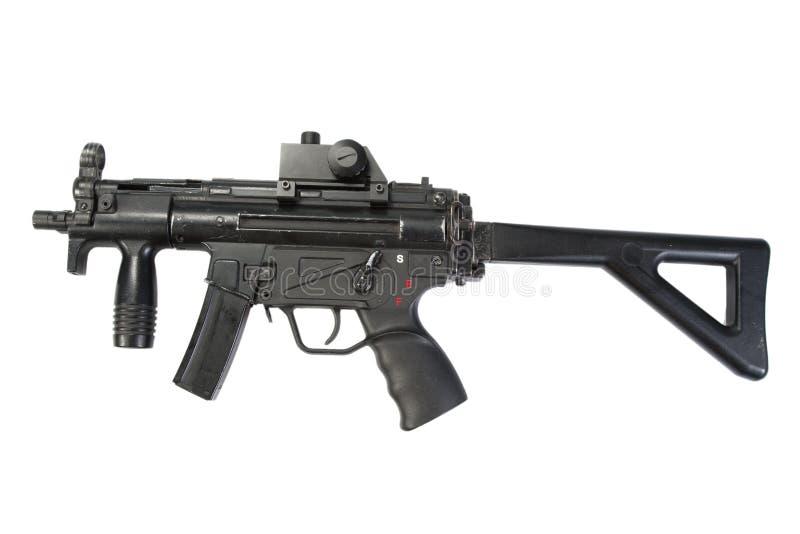 MP5 - пушка submachine стоковое изображение