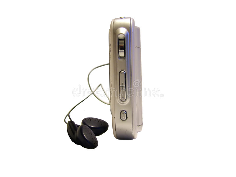 Download MP 3 Player stock photo. Image of earphone, small, device - 661446