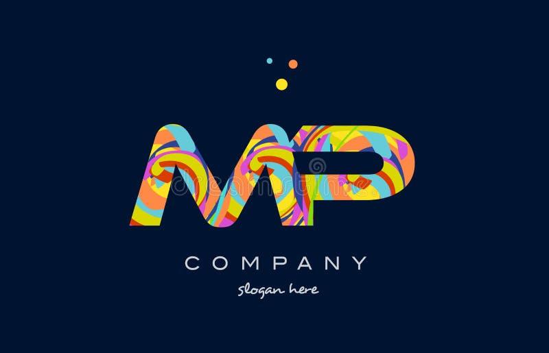 Mp m p colorful alphabet letter logo icon template vector stock download mp m p colorful alphabet letter logo icon template vector stock vector illustration of vector spiritdancerdesigns Images