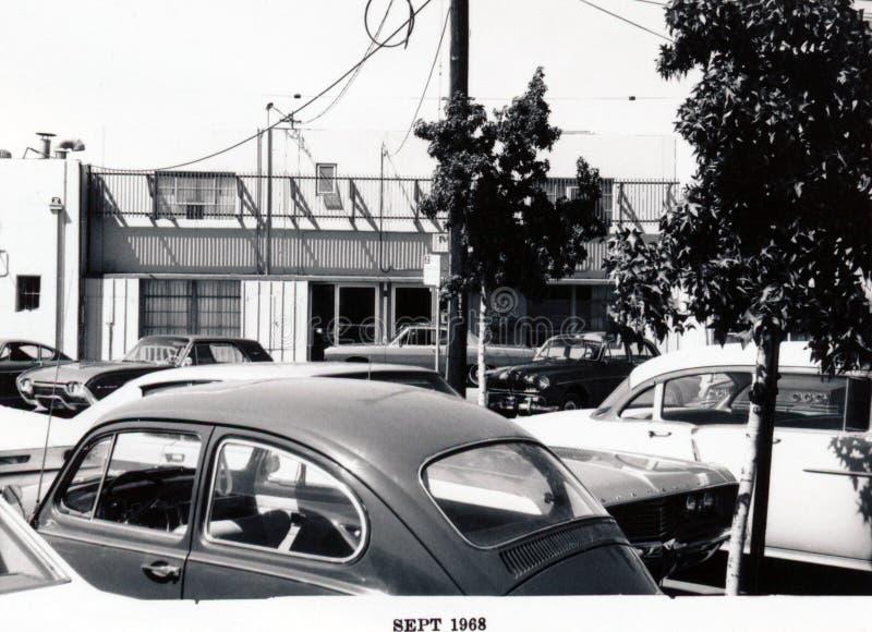 MP1968: Santa Cruz Avenue - lado sur, parte posterior foto de archivo