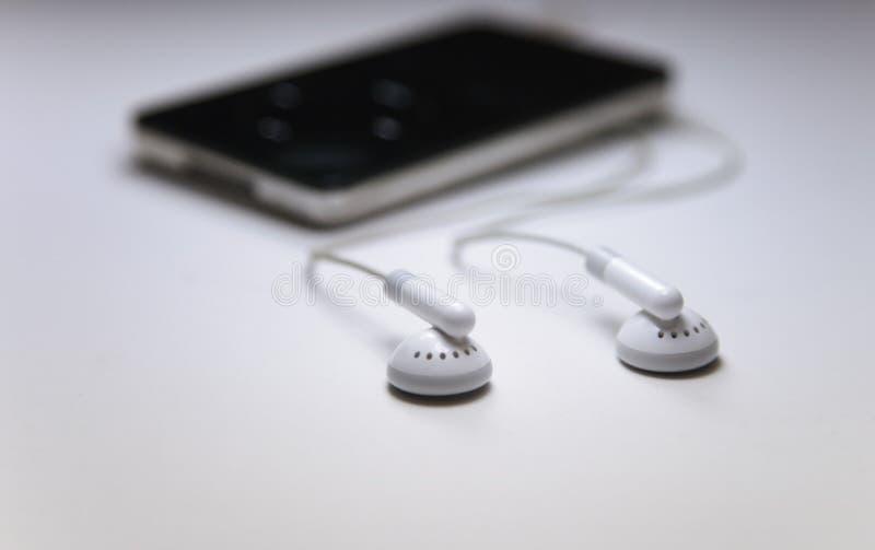 MP3播放器 图库摄影