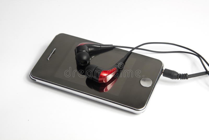 MP3播放器 免版税图库摄影