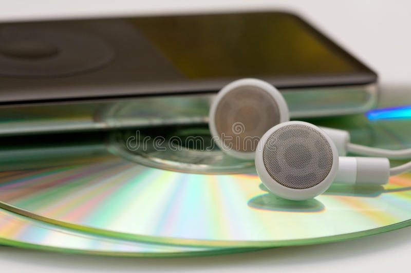 MP3 Music royalty free stock photography