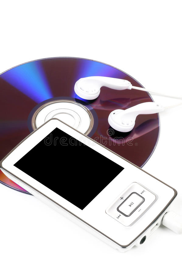 Download Mp3 Player stock illustration. Image of background, high - 25492246